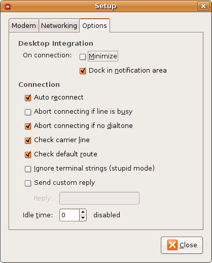 sudo apt-get install gnome-ppp